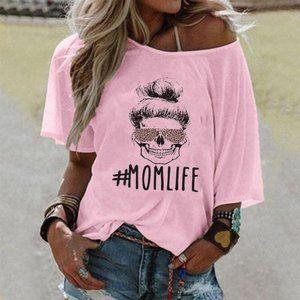 #MOMLIFE Alphabet T-shirt 01